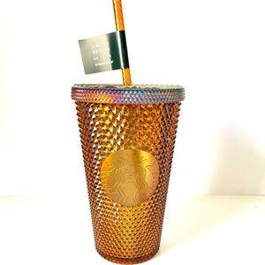 ✨ NEW gold Starbuck studded tumbler ✨
